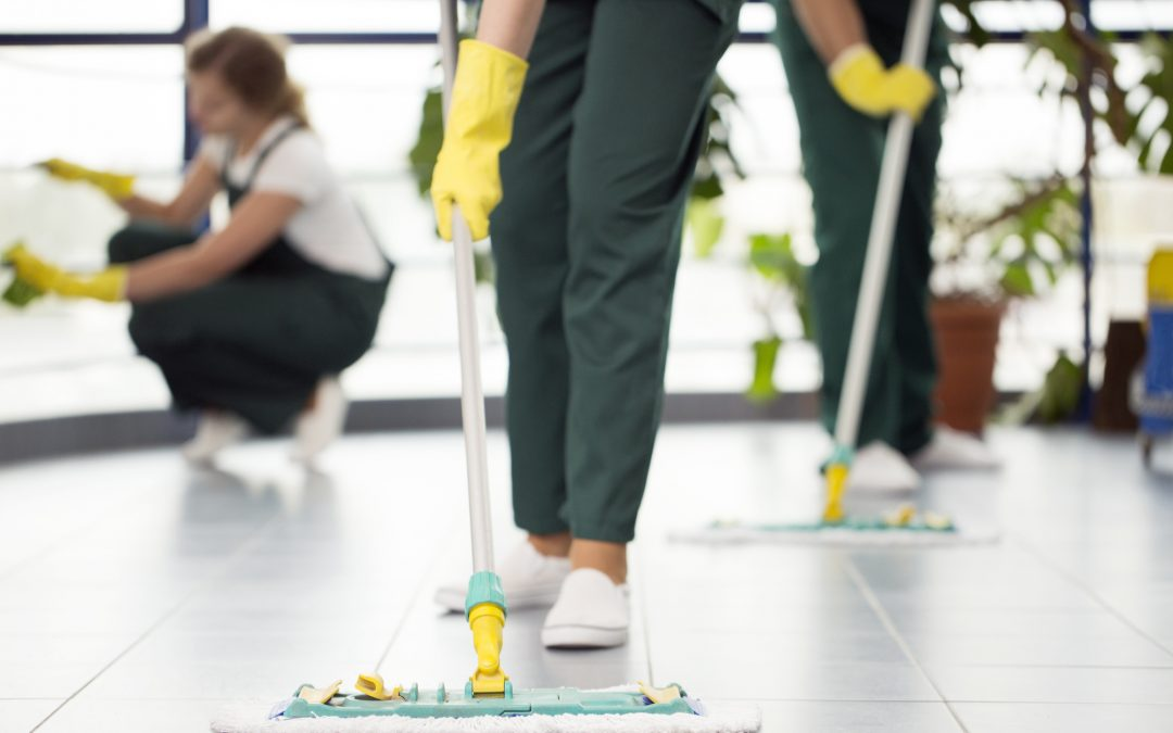 All the Different Types of Cleaning that Janitorial Services Offer