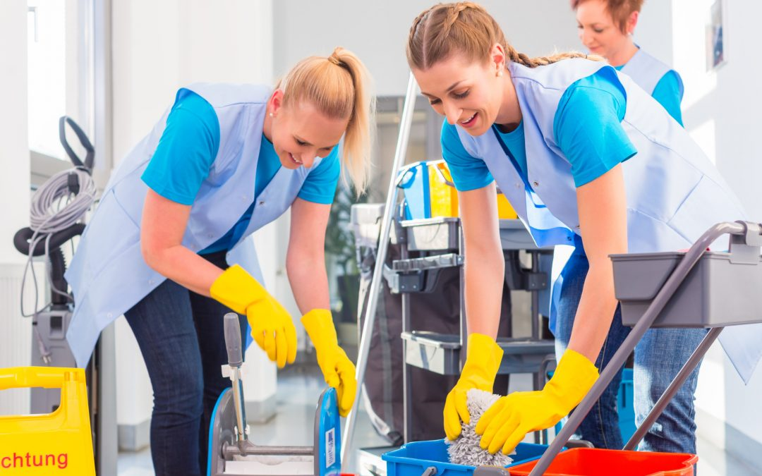 5 Benefits of Hiring Commercial Santa Maria Cleaning Services
