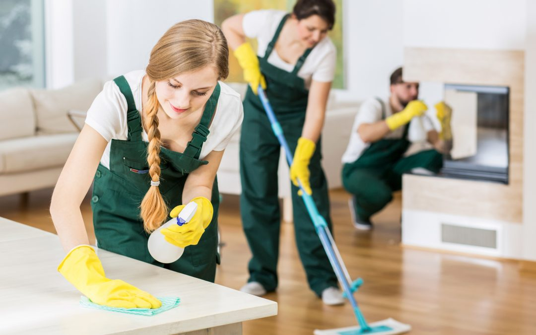 4 Reasons to Hire Professional Cleaning Services in 2021