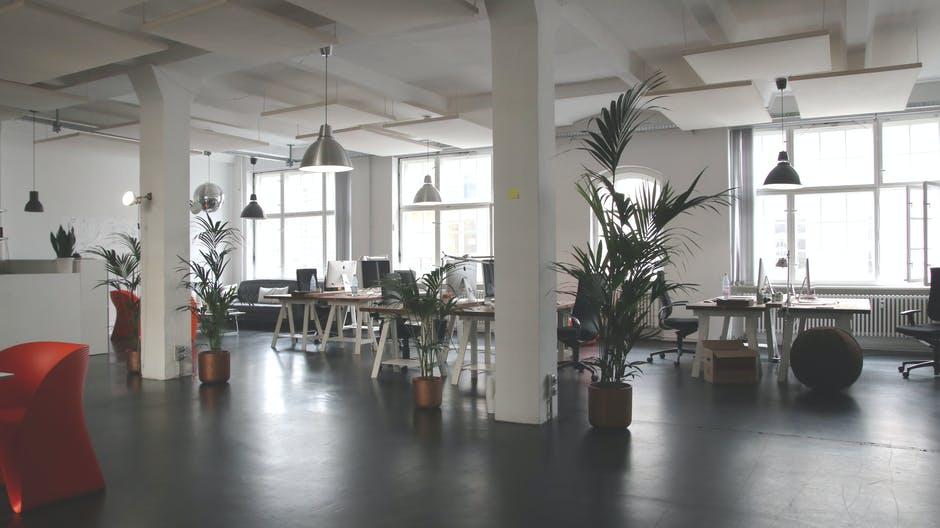 clean office buildings